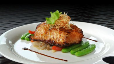 FiveSen5es_Baked Black Cod with Honey Glaze