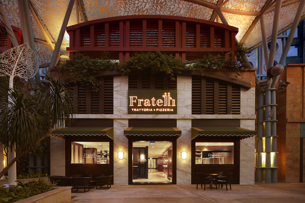 Italian Restaurant Resorts World Sentosa