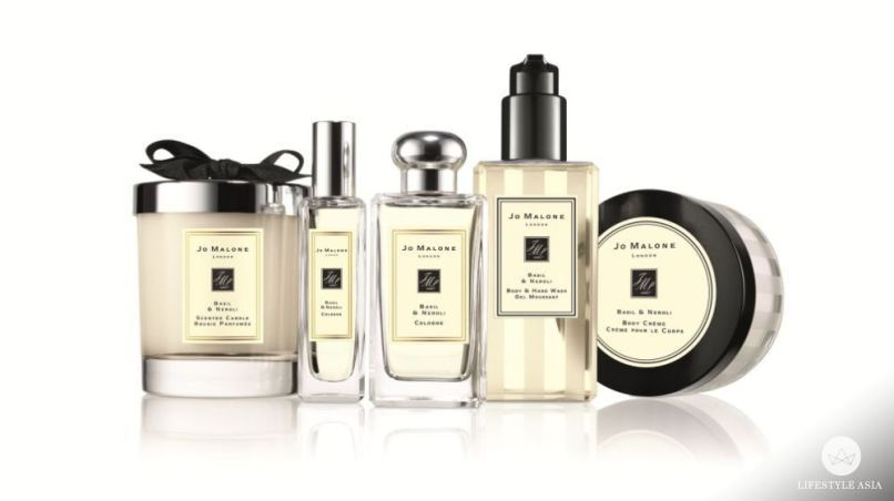 The Jo Malone Basil & Neroli collection.