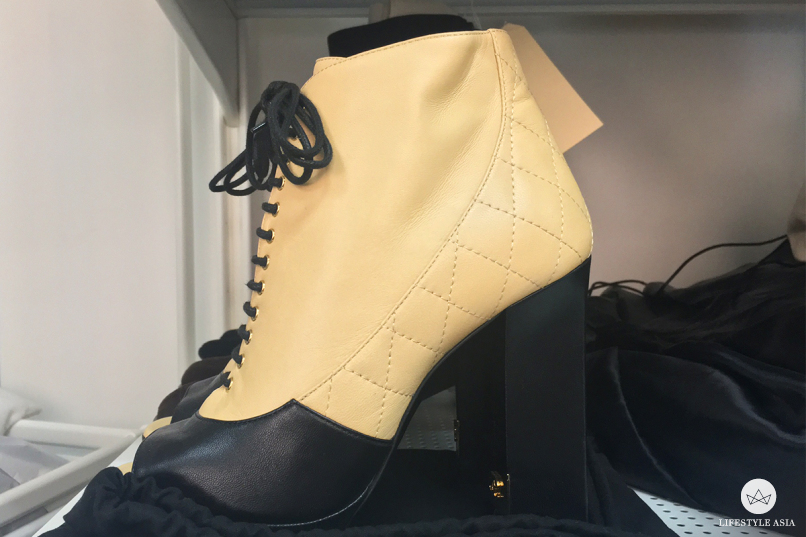 vintage chanel shoe