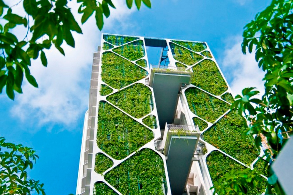 Roof Design Ideas: 5 Eco-friendly Buildings Making Singapore Greener Than
