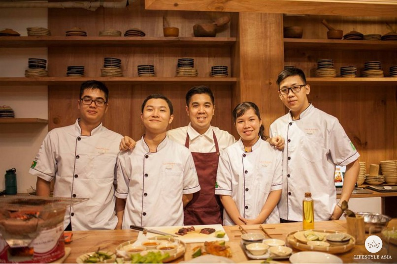 Bao conducted a masterclass for winners of the Taste of Australia culinary competition. (Photo: Taste of Australia)