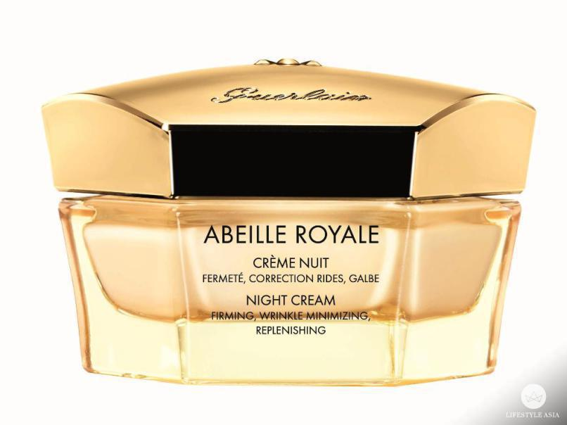 The Guerlain Abeille Royale Night Cream works its magic into skin while you sleep.