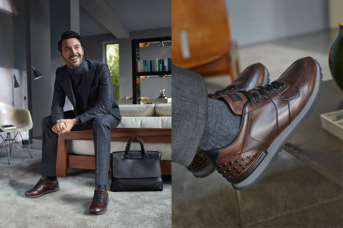Jack Huston fronts Tod's fall/winter 2016 menswear campaign