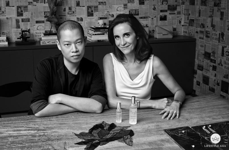 Jason Wu and Mathilde Thomas (founder of Caudalie)