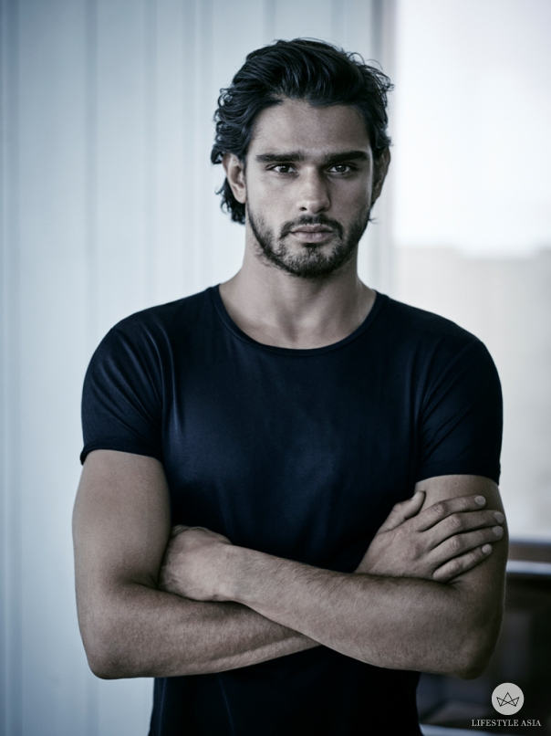 Brazilian model Marlon Teixeira is the Jimmy Choo man personified.