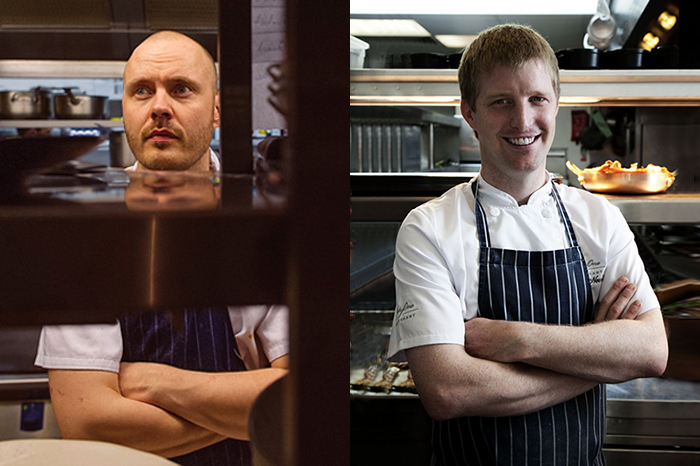 Mark Moriarty will be be joined by two of Ireland's most celebrated chefs, Mickael Viljanen and Graham Neville, on the modern Irish menu.