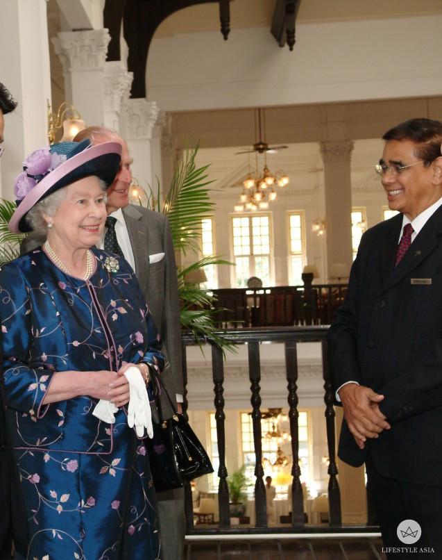Mr Danker with Queen Elizabeth II copy