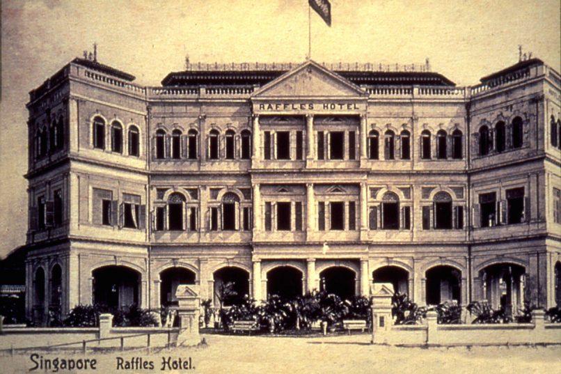 Raffles Hotel Singapore Old Facade copy