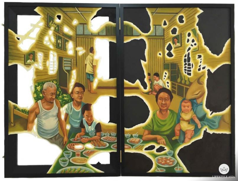 Zinc generation lost, 2016 by Gan Sze Hooi.